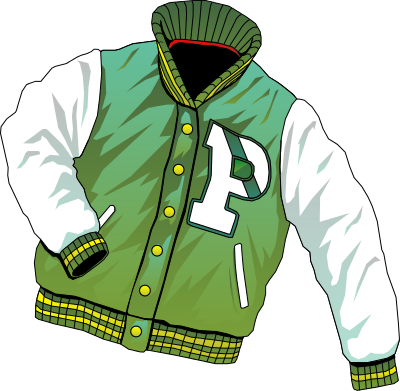 Letter . Jacket clipart svg royalty free library
