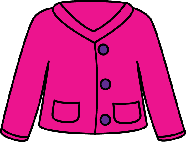 Sweater clipart cardigan. Clip art images pink
