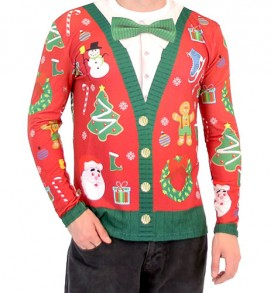 Jacket clipart cardigan. Cheap ugly christmas sweaters