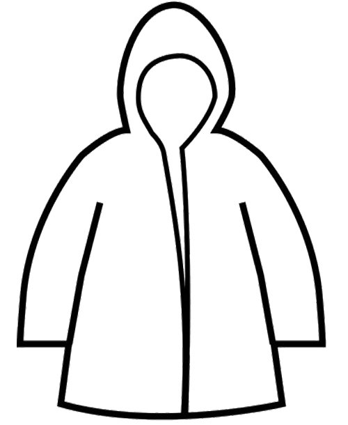 Jacket clipart printable. Images of raincoat