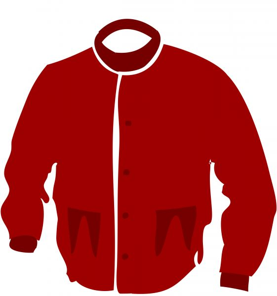 jacket clipart red jacket