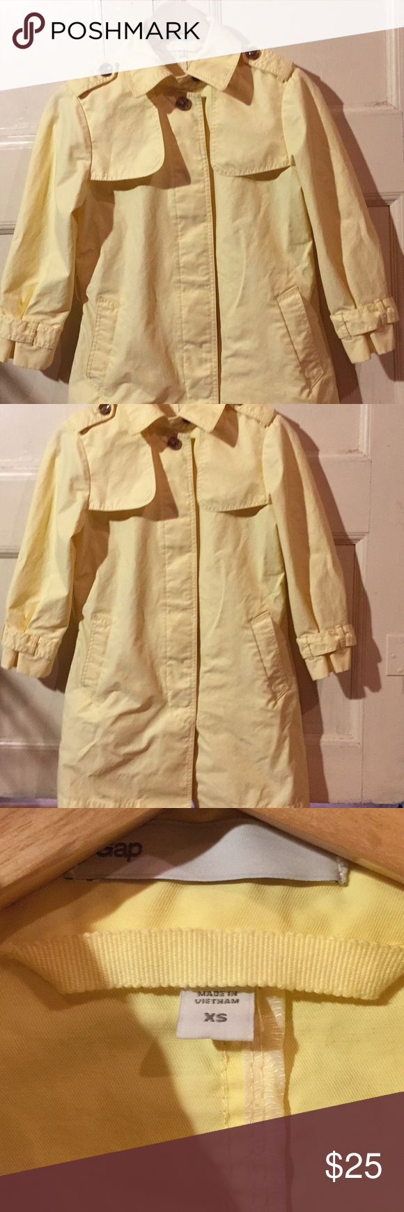 Jacket clipart trench coat. Yellow spring conditioning and