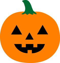 Cute halloween clip art. Pumpkin clipart simple png royalty free stock