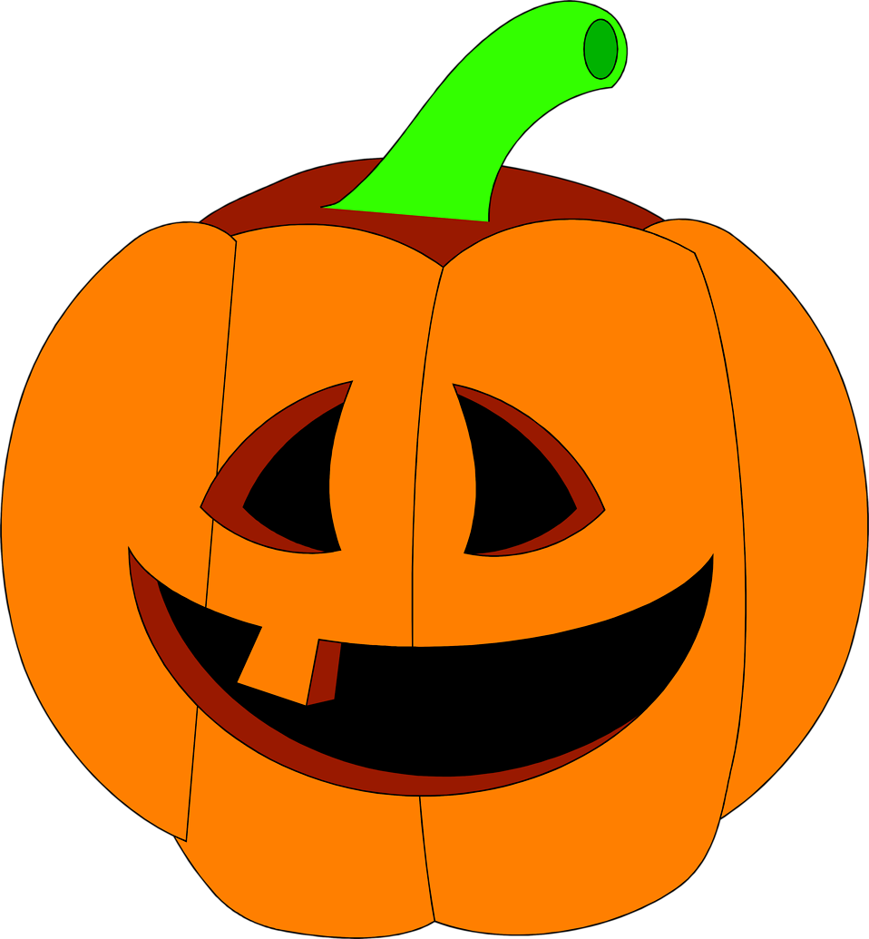 jackolantern vector carved pumpkin