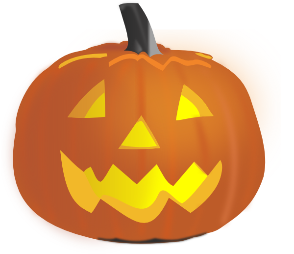 jackolantern vector scary pumpkin