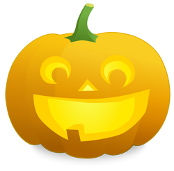Surprised clipart jack o lantern. And halloween pumpkins very