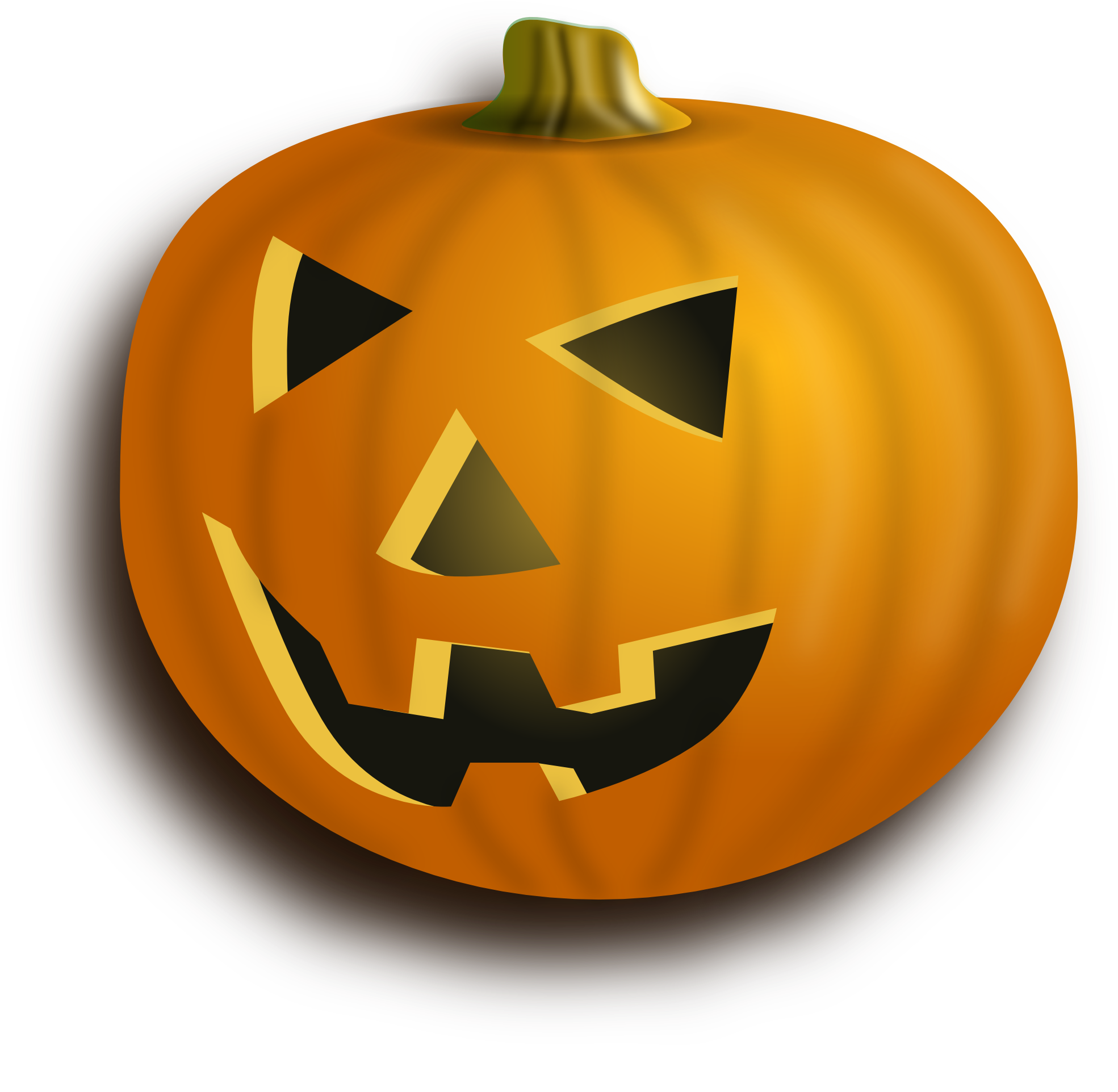 Vector pumpkins stock. Clipartist net clip art