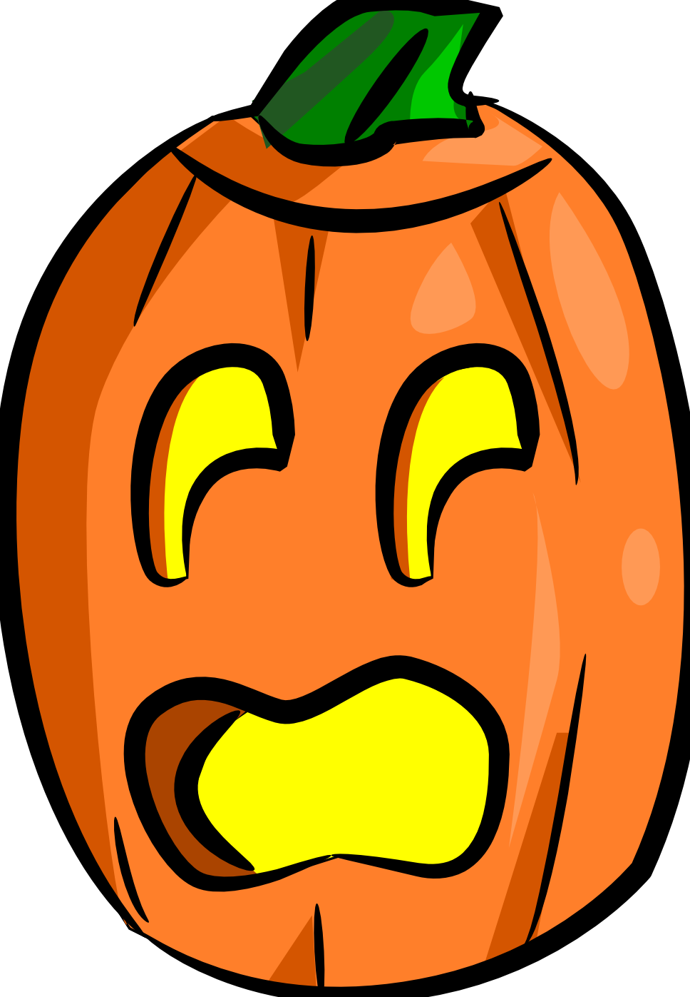 Surprised clipart jack o lantern. Totally free clip art