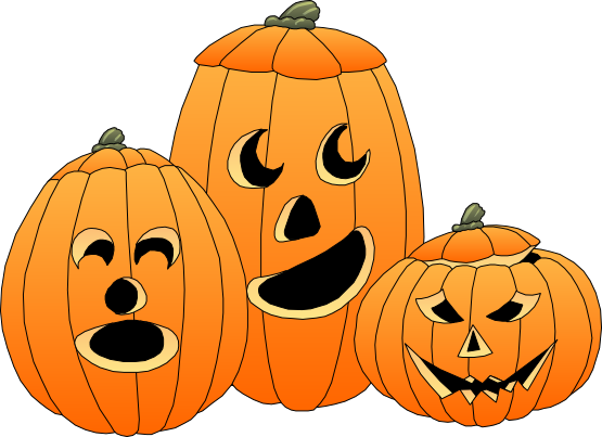 Jackolantern clipart two. Pumpkins