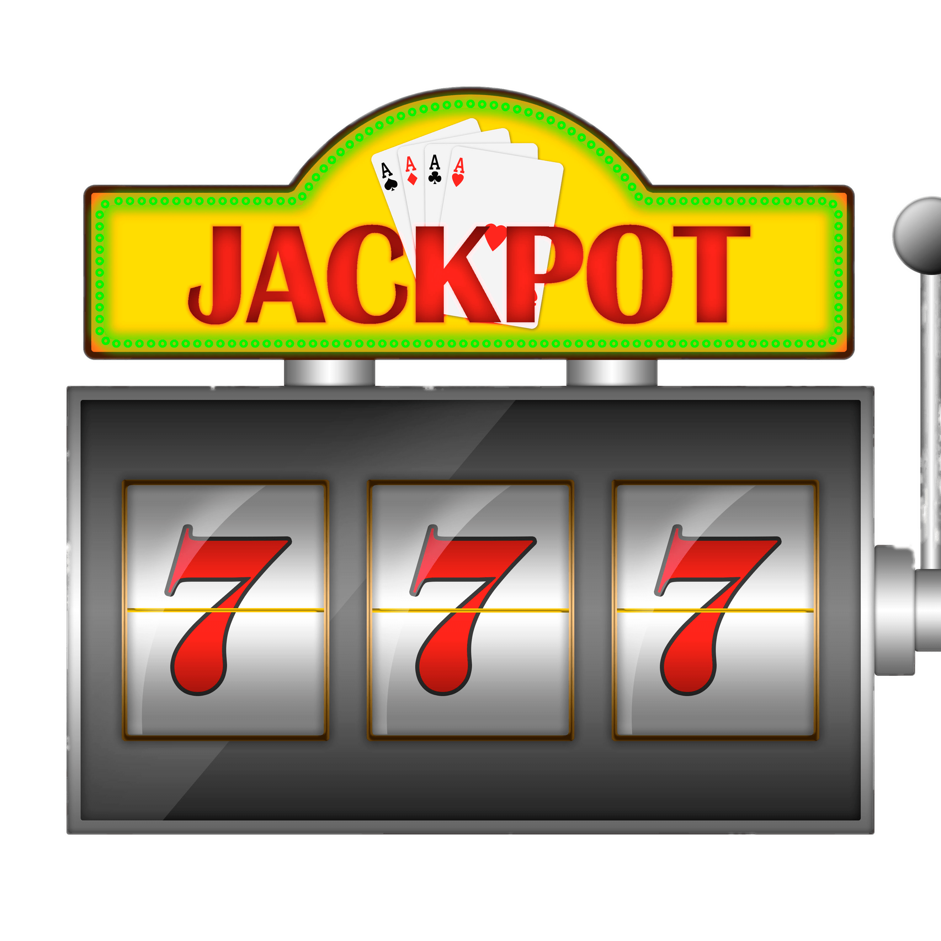 Jackpot drawing machine. Slot graphic free