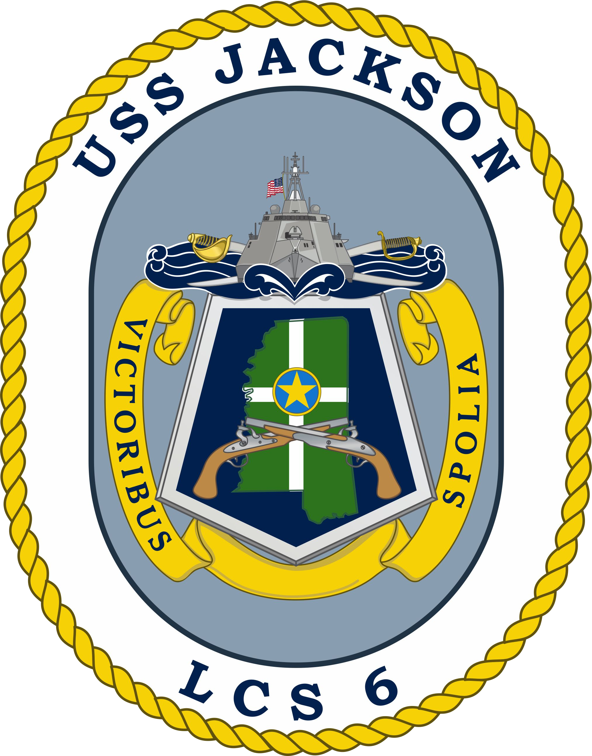 Jackson state crest png. File uss lcs wikimedia