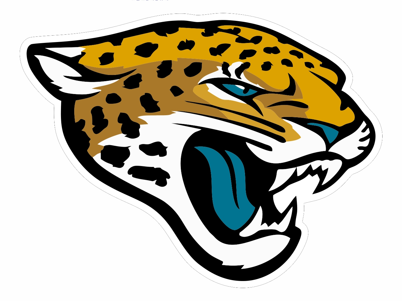 Jaguar clipart high school. Jacksonville jaguars cut free