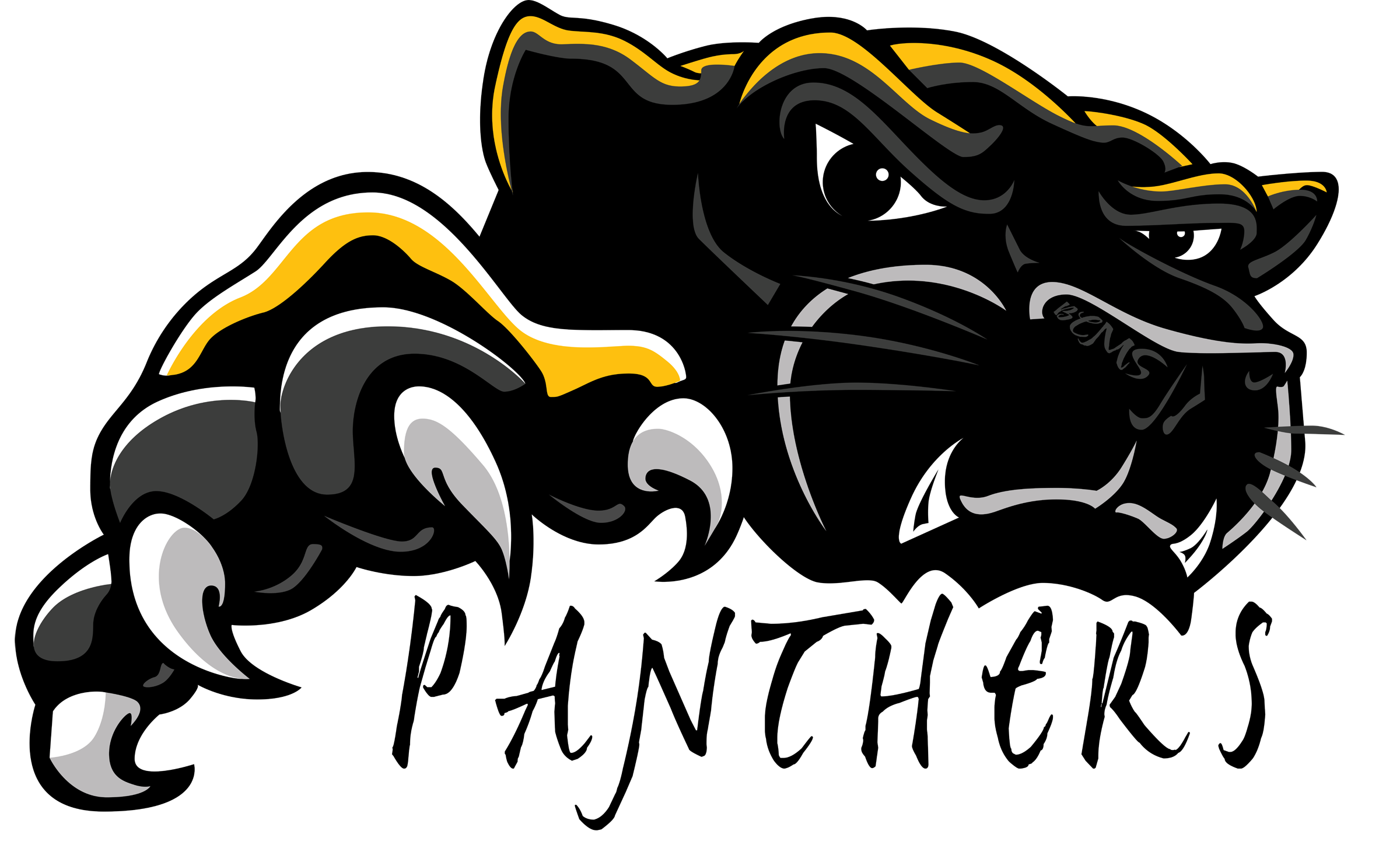 panther clipart panther cheer