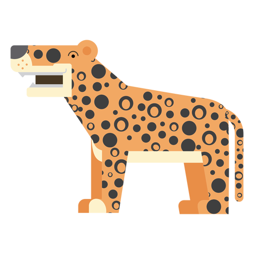 Jaguar transparent vector. Illustration png svg