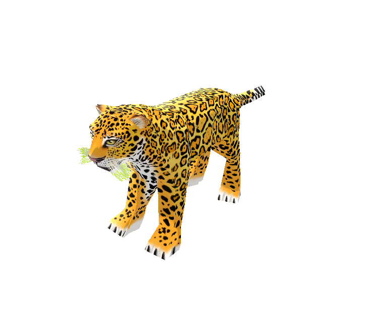 Jaguar transparent zoo tycoon 2. Pc computer the models