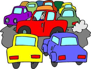 Jam clipart trafic. An exercise traffic meditation