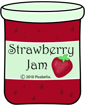 Jam clipart black and white. Free png transparent images