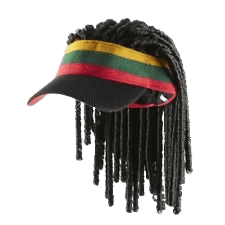 Rasta hat with dreads png. Download free jamaican cap
