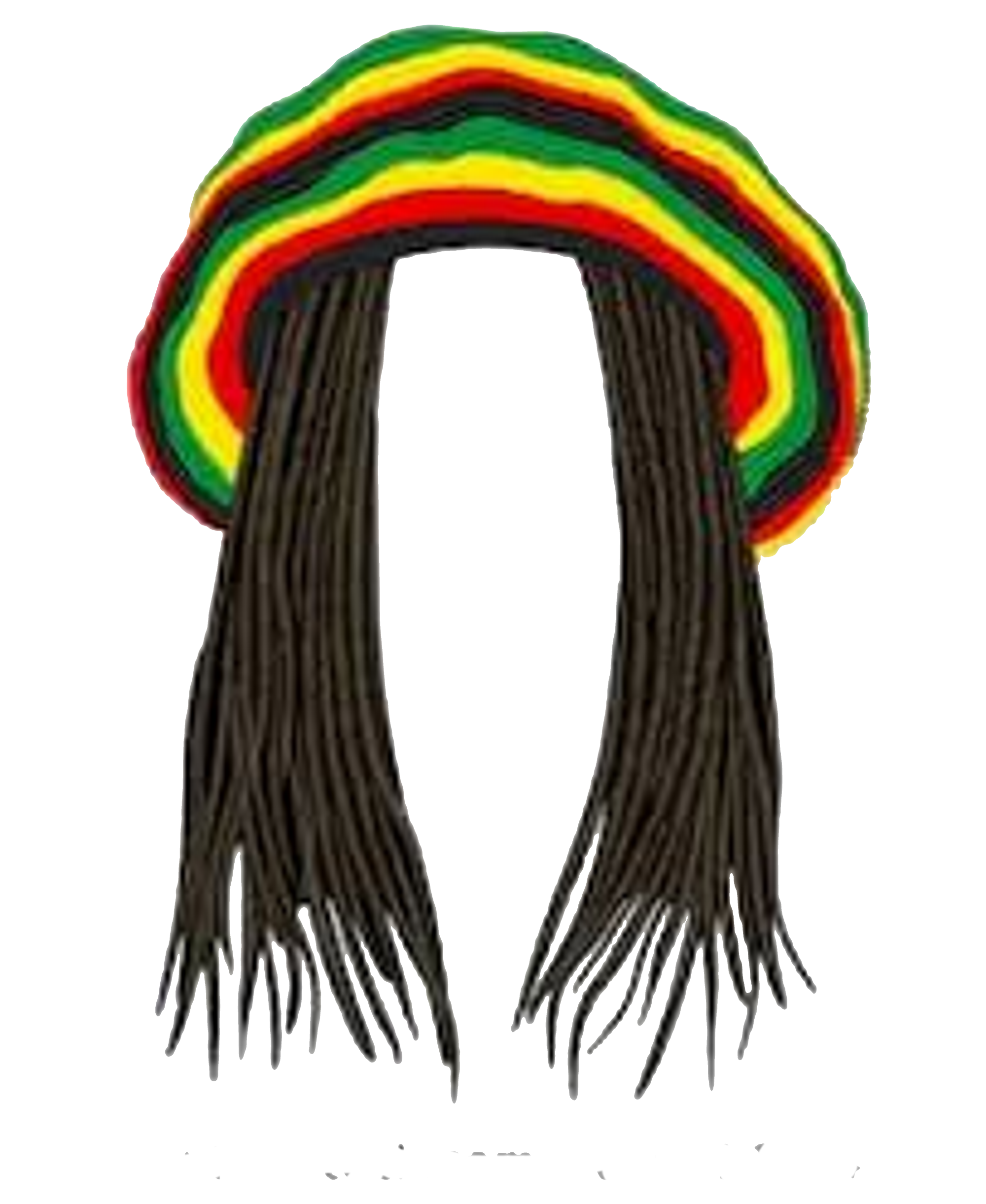 Jamaican beanie and dreads png. Collection jpthreads on threadless