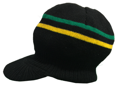 Ny jamaica knitted tam. Jamaican beanie and dreads png black and white stock