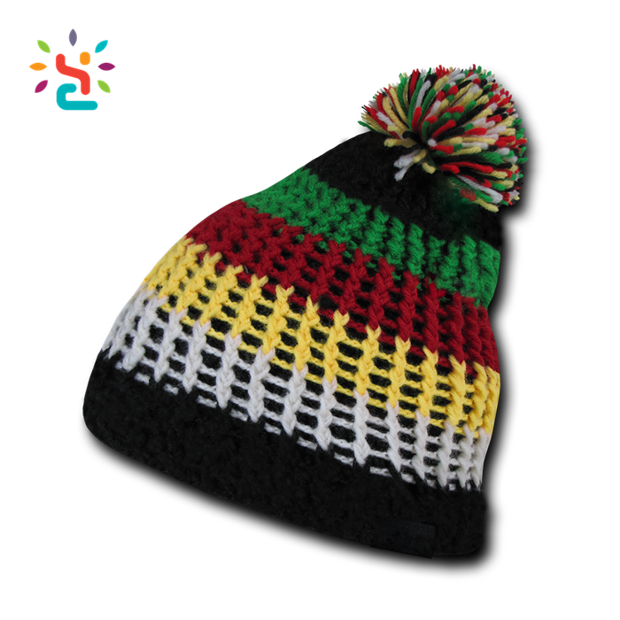 Jamaican beanie and dreads png. Old fashioned crochet rasta