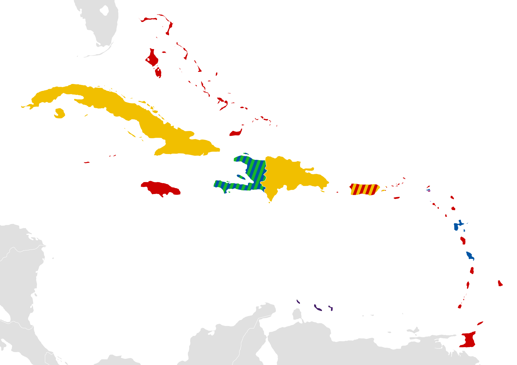 Jamaican drawing background image. Languages of the caribbean