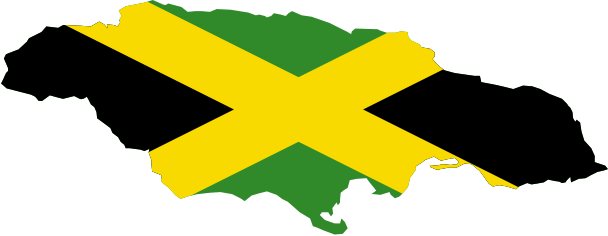 Jamaican drawing background image. First wave the original