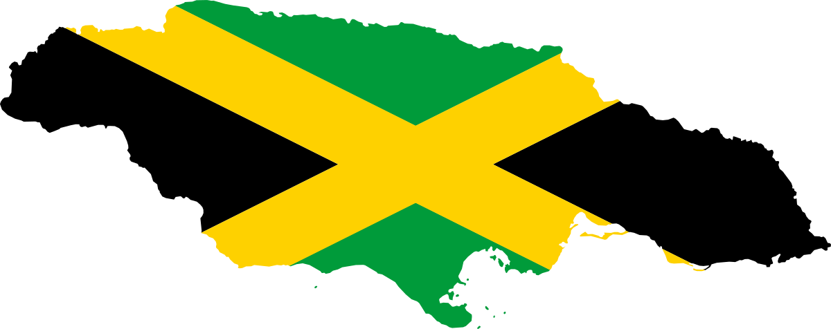 Jamaican drawing hat. File flag map of