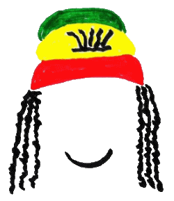 Jamaican drawing hat. How to draw a