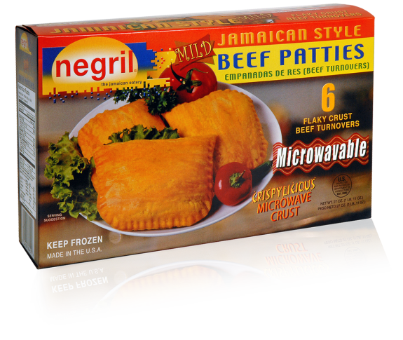 Jamaican patty and coco bread png. Negril eatery foodeography beef