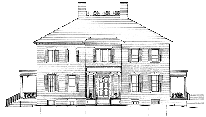 Jamestown drawing house. Governors of virginia since