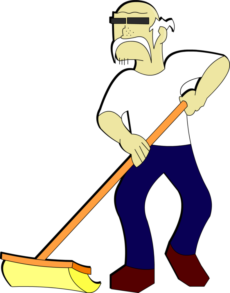 Janitor clipart. Clip art library