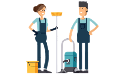 Janitor clipart. Hospital housekeeping free