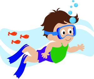 Janitor clipart kid. Boy swimmer free deby