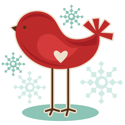 January clipart cold bird. Winter animals at getdrawings