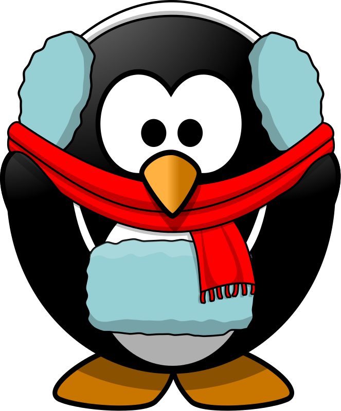 Penguin clipart summer. Free cold animals cliparts
