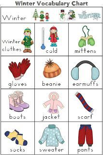 January clipart cold weather clothes. Winter names buscar con