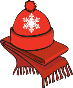 January clipart cold weather clothes. How to protect yourself