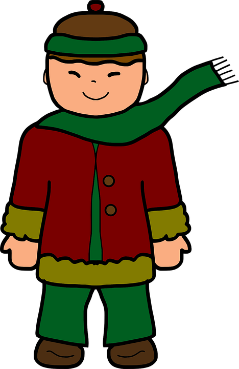 January clipart cold weather clothes. Google search