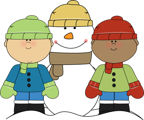 January clipart cold weather clothes. Winter clip art images