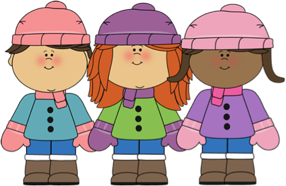 January clipart cold weather clothes. Clothing reminder