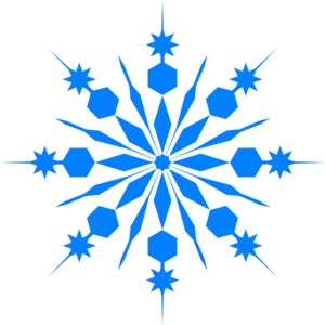 Snowflakes clipart. Free january background cliparts