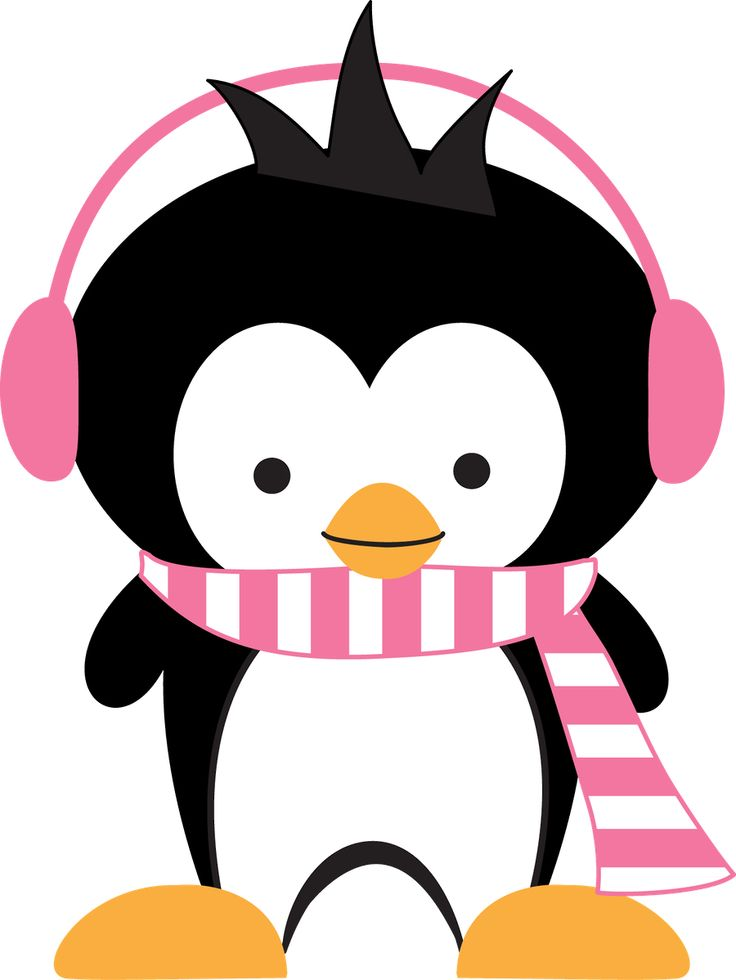 January clipart penguin. The best pinguim images