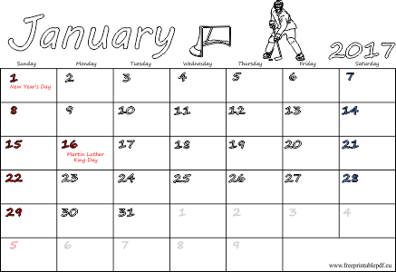 January holiday png. Us uk calendars printable