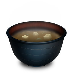 Miso soup png. Icon japanese food iconset