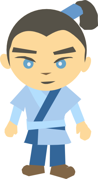 Anime clipart anime japanese. Boy
