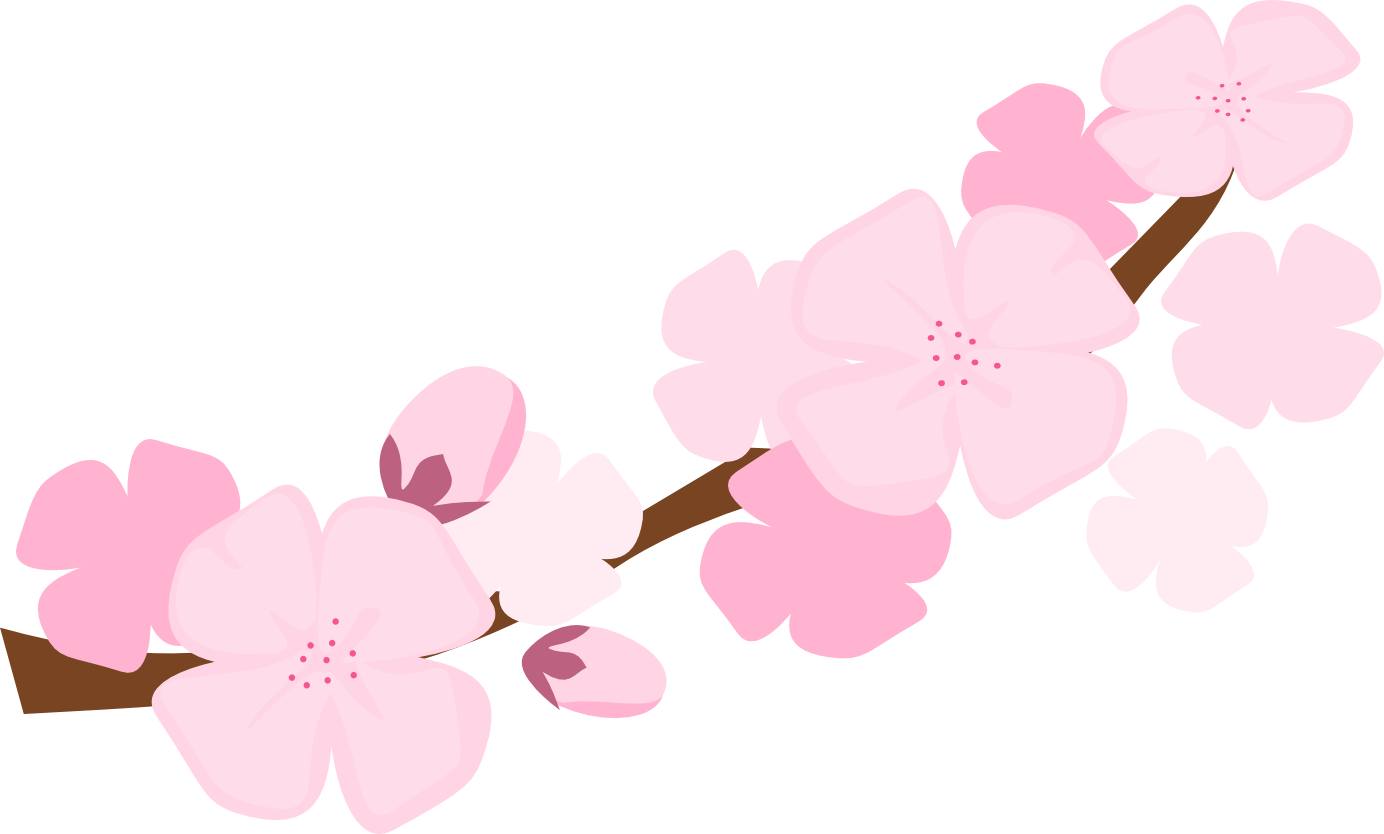 Blossom clipart kawaii. Free cherry download clip