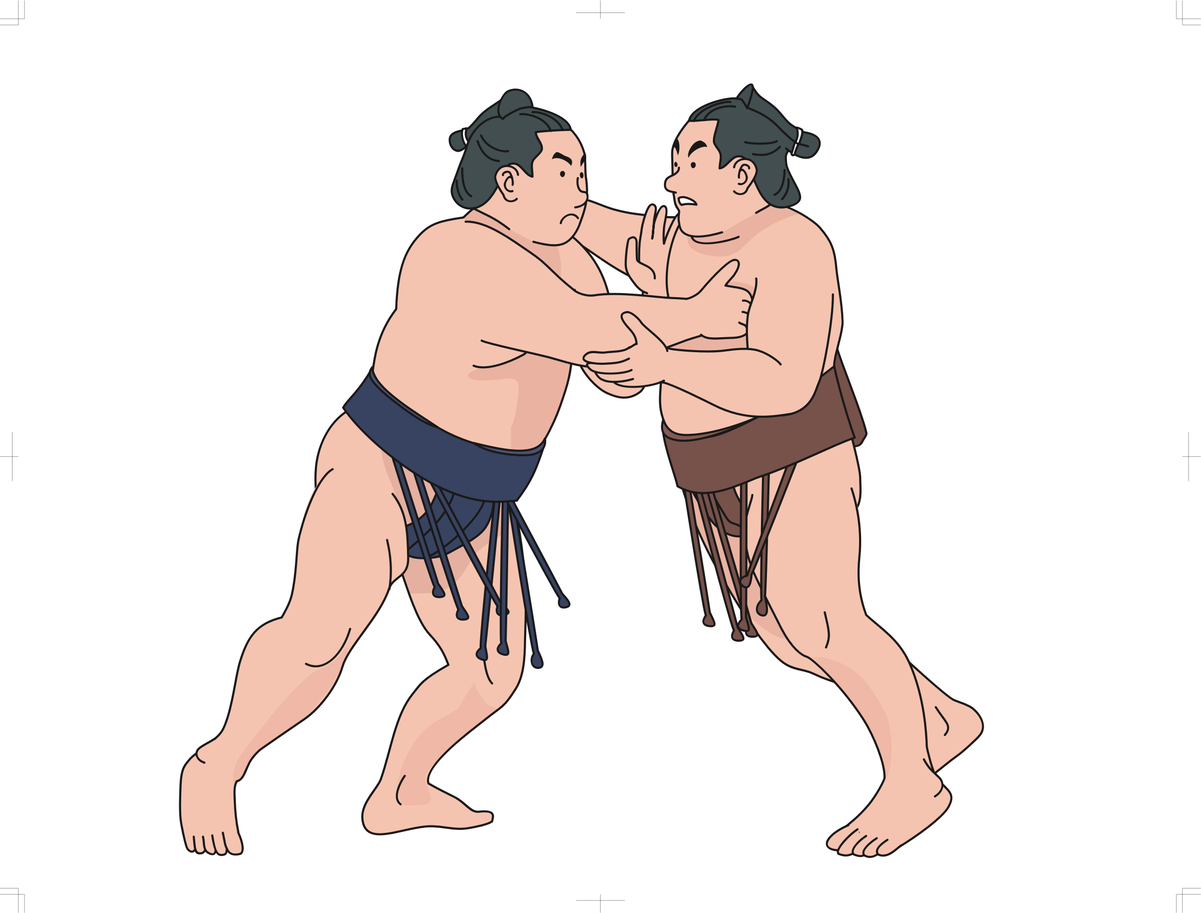 Wrestlers clipart muscular. Sumo big image png