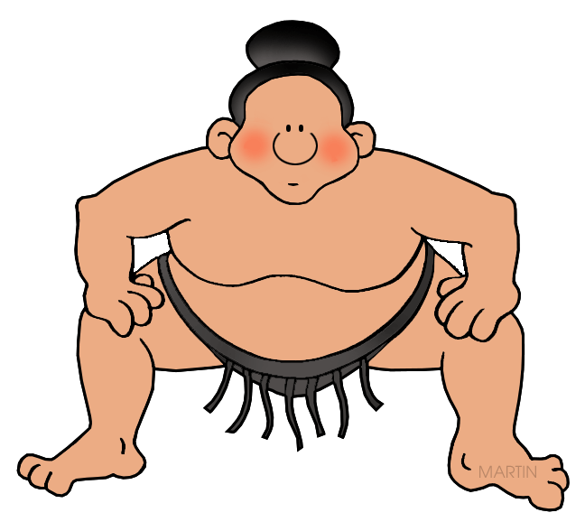 Japanese clipart sumo. Gallery by katie