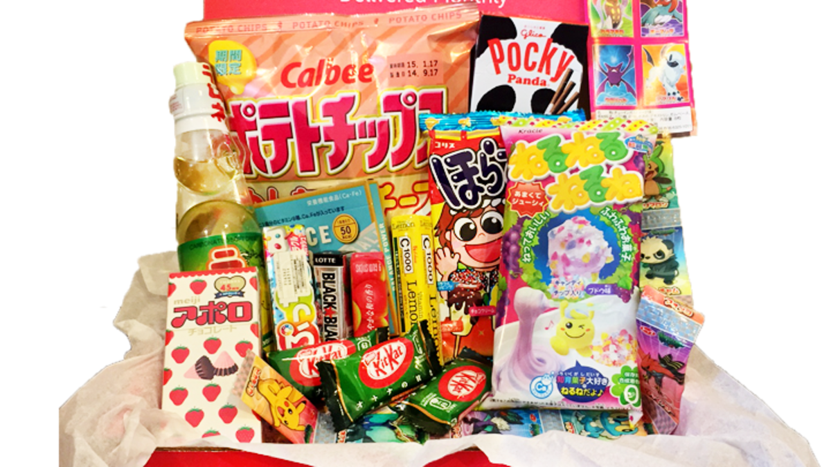 Japanese crate png. Japan snack subscription service